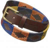 Image of Polo Belt - 'Moreno' by PAMPEANO