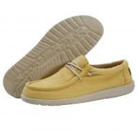 Image of Wally Washed Canvas Citrus by DUDE SHOES