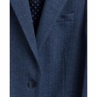 Image of Slim Fit Herringbone Jersey Blazer by GANT