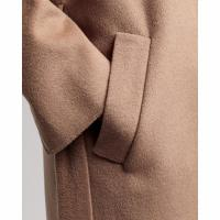 Image of Wool Blend Belted Coat by GANT