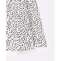 Image of HARBOUR Spot PRINT LONG SLEEVE JERSEY TOP by JOULES