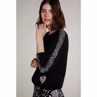Image of KNITTED JUMPER IN JACQUARD from OUI