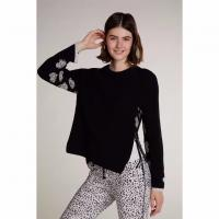 Image of KNITTED JUMPER WITH HEART MOTIFS from OUI