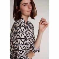 Image of SHIRT WITH GRAPHIC PATTERN by OUI