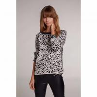 Image of JUMPER WITH DALMATIAN PATTERN from OUI