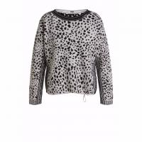 Image of JUMPER WITH DALMATIAN PATTERN by OUI
