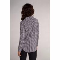 Image of HOUNDSTOOTH PATTERNED BLOUSE by OUI