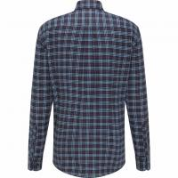 Image of Casual-Fit Cotton Check Shirt by FYNCH HATTON