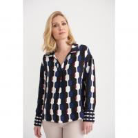 Image of Blouse in BLACK from JOSEPH RIBKOFF