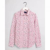 Image of Clover Garden Print Stretch Broadcloth Shirt by GANT