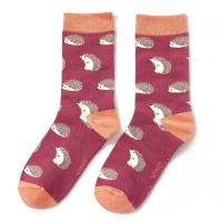 Image of Hedgehogs Socks by MISS SPARROW