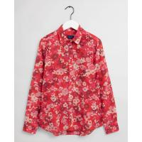 Image of Liberation Bouquet Print Cotton Silk Shirt by GANT