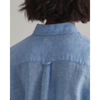 Image of Linen Chambray Shirt by GANT