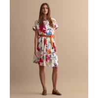 Image of Humming Floral Print Popover Dress by GANT