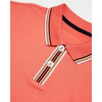 Image of Stripe Collar Polo Shirt by TED BAKER
