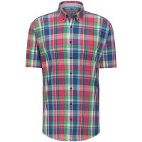 Image of Checked Short Sleeved Shirt from FYNCH HATTON