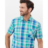 Image of WILSON SHORT SLEEVE CLASSIC FIT CHECK SHIRT by JOULES